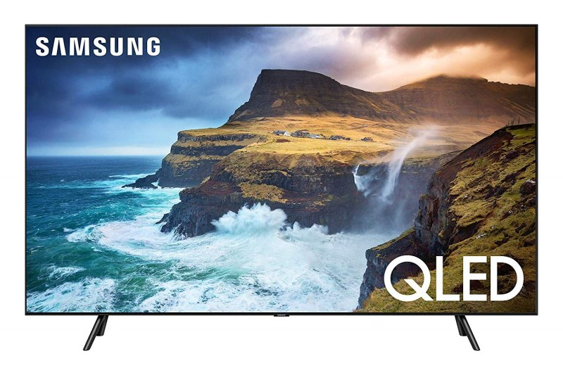 Samsung QN65Q70RAFXZA Flat 65-Inch QLED 4K Q70 Series Ultra HD Smart TV with HDR and Alexa Compatibility (2019 Model)