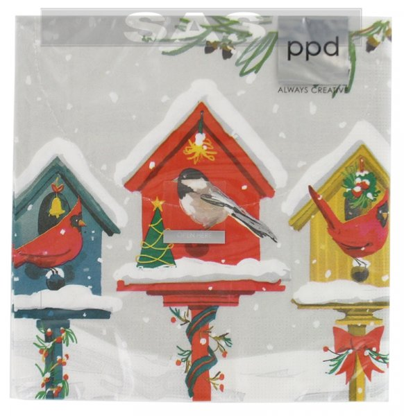 Անձեռոցիկ «ppd Always Creative Holiday Birdhouse»