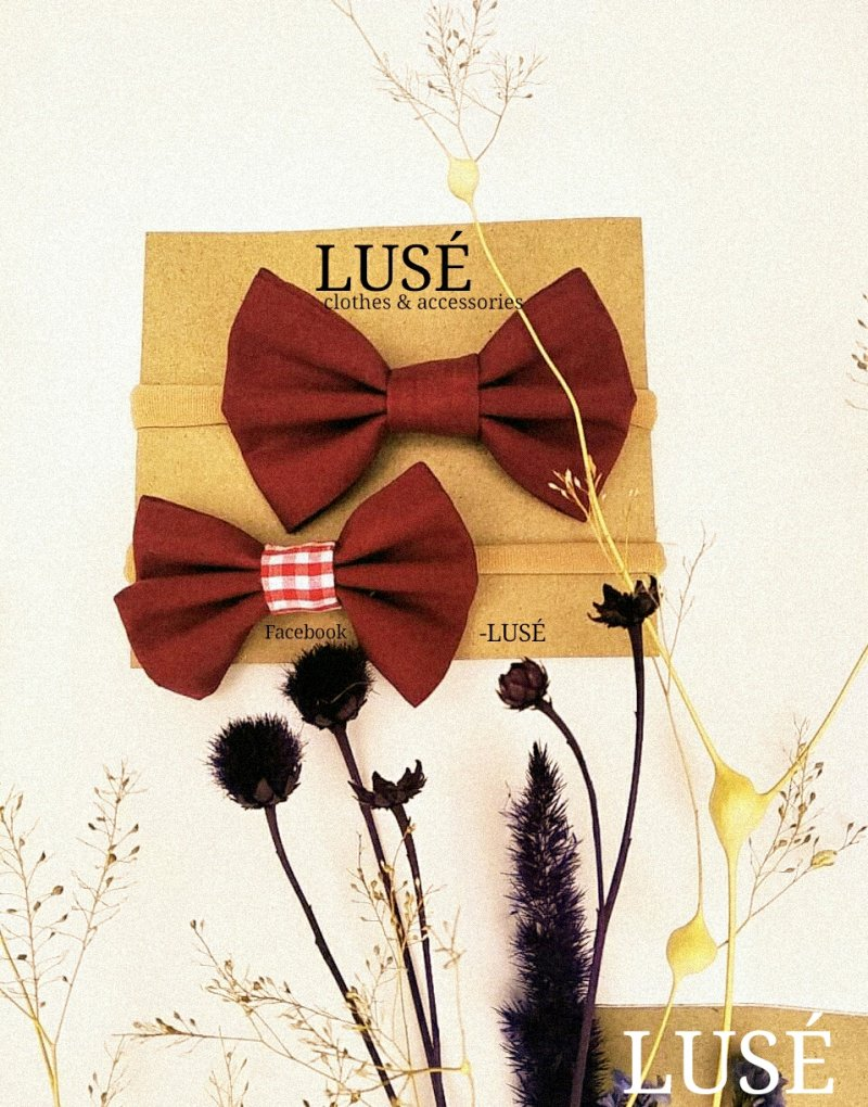 LUSÉ accessories (headband)headband for baby girls,bow,handmade,accessories